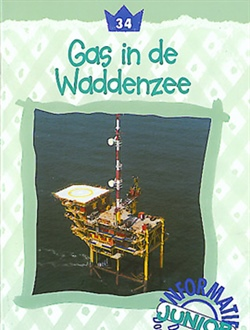 Gas in de Waddenzee