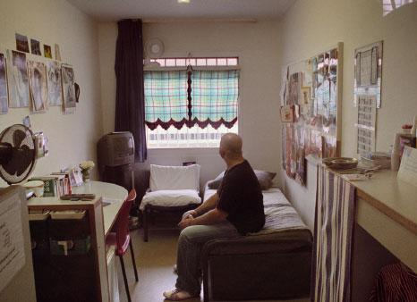 De gevangenis - Fotos van de slaapkamers ...